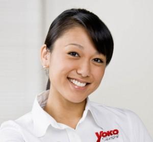 Mitarbeiterin von Yoko Sushi